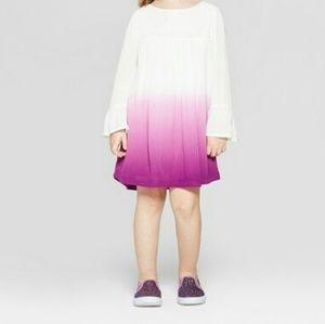 Genuine Kids Raspberry Ombre Dress